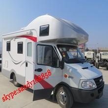 China 4x2 iveco motor home and caravan