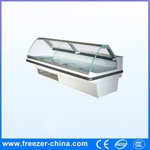 Industrial commercial chest kitchen glass door refrigerator excellent manufacturer