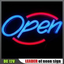 "Hot !! 18x9.2"" best led neon sign DC12V indoor use"