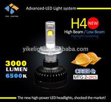 High power aviation parts mtg2 45w h4 car led bulb