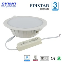 2015 new design plastic 21w ceiling downlight with CE RoHs