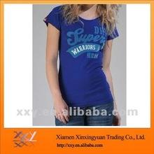 2012 silk screen printing singlet for women to wear