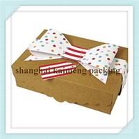 China supply folding kraft paper moon cake boxes
