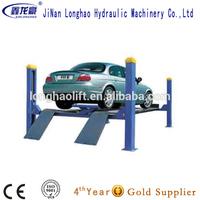 Hydraulic 4 Pole Car Lifting Equipment China Auto Lift For Car