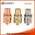 Wholesale ss doge atomizer/doge atomizer clone / 1:1 doge rda atomizer clone