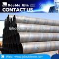 Din en 10220 Alta- fuerza Espiral soldada acero tubería /tubo
