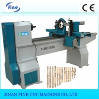 F-MC1520 staircase handrail making machine/wood working lathe with good price and high speed