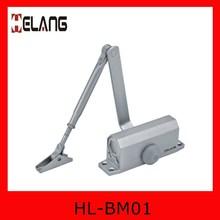 High garde aluminum types of door closers HL-BM01