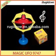 Flashing and music magic UFO 9747 spinning top gyro christmas gift