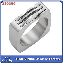 Wholesale hot style high quality finger ring stainless steel