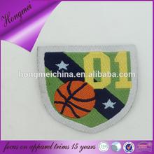 basketball badge sweater design logo for apparel