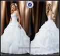 ultimo vestito innamorato palla abito di raso bordatura in pizzo volant abiti da sposa per le donne mature sposa abito abito