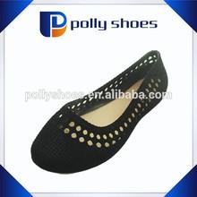 Cheap black suede shoe women heel jelly sandals 2015