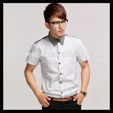 wholesale marke latest dress man unique neck cheap plain white t shirts