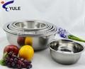 24cm 410ss helado de acero inoxidable bowl ornamento de la navidad de utensilios de cocina