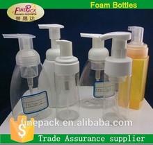 150ml 200ml 250ml 300ml empty plastic foam bottle for packaging