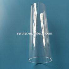 transparent PC rigid clear plastic tubing