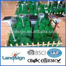 CIXI Landsign super bright series copper finish led garden solar light