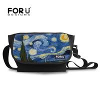 college student Canvas Shoulder long strap messenger bag