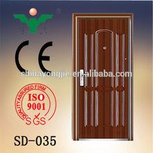 Popular design hot selling high quality american steel door