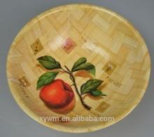 Cherry Bamboo wooden Serving Bowl Set