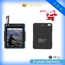 New coming mirror waterproof solar cell phone charger for SAMSUNG