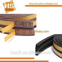 E D P profile rubber seal strip self adhesive