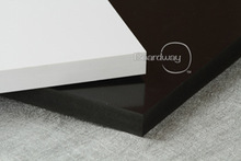 Light Weight grey/white pvc plastic sheet/pvc sheets black
