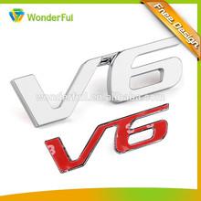 Car Plastic Badge And Sticker Body Decoration Type Custom Auto Chrome Car Sticker