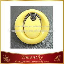 Fancy nylon abs 3 pcs combined button for women garment