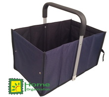 solid popular foldable shopping basket with aluminium handle,market basket