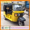 CNG&GAS 150cc Motorized Driving Type Bajaj Tuk Tuk Covered Tricycle Passenger use for Sale