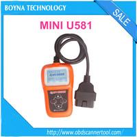 [Update online] Memoscan Mini U581 CAN OBDII/EOBDII Reader u581 can memo scanner update online freely