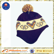 2015 wholesale new design best quality cotton and acrylic knit caps & knit hats