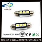 36mm 5050 3smd Canbus Error Free Festoon led license plate light