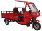 Motorized Driving Type and Cargo Use For 175cc /200cc cargo tricycle with cabin