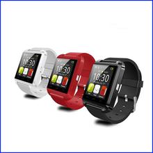 2015 newest vesion Fashional U8 touch screen bluetooth watch wrist watch smart watch phone for Samsung Huawei Xiaomi smartphones