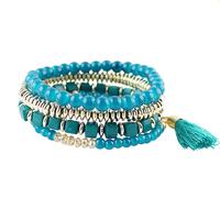 Free Shipping Wholesale Fashion Multilayers Beads Wrap Bracelet