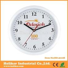 OEM plastic corporate giveaways clock