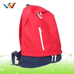 Custom red school Backpack Bag For girls