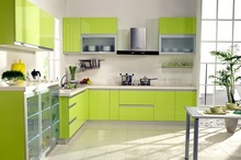 Colourful modern kitchen cabinet PKC-082