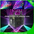 disco de luz del proyector multi color de luz láser rgb láser 2 vatios