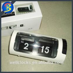 Modern Simple And Fashion Auto Flip Calendar Clock