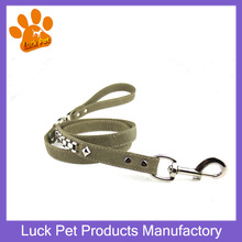 New Design High Quality Classic Alloy charms Fashion PU Leather Pet Leashes for Small or Large Dogs Size:2.0*120 cm