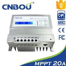 24v/12v 20a solar mppt controlador de carga