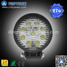 "4.5"" ip68 new 27w car led tuning light led work light"