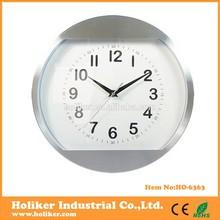 Metal round quartz clock movement