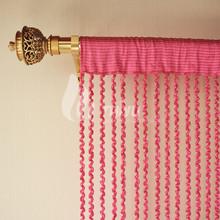 Spiral Line Brunout String Curtain