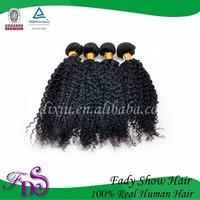 indian deep drawstring ponytail /indian curly hair weave