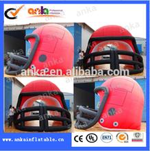 2015! Hot custom large football helmet inflatable football helmet